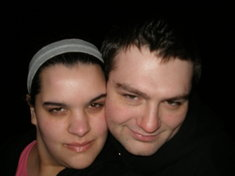 Looking a little Rainn Wilsonish Me, Krissy, Rainn Wilson